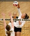 Rocky volleyball sweeps MSUB to remain unbeaten