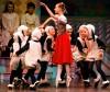 Local dancers perform as sheep