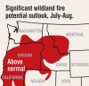 Heat, fire danger to rapidly increase in parts of Montana
