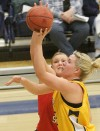 Kayleen Goggins against Dixie State