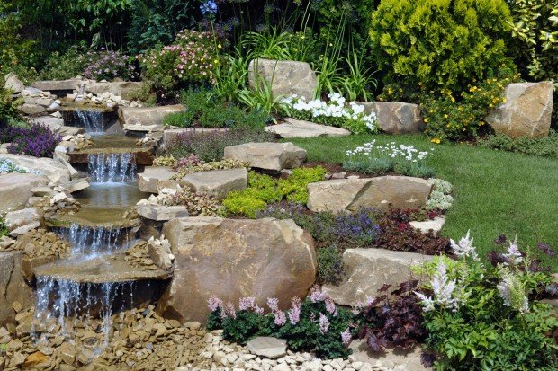 Pondless water features infuse your home with soothing Home water features