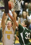 Laurel's Shawn Nardella, 4, puts up a shot