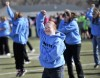 Special Olympians dance Gangnam Style