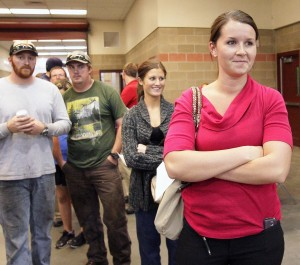 Last voters still in line; Montana asks county officials to wait to release more results