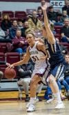 Lady Griz fend off Bobcats in overtime