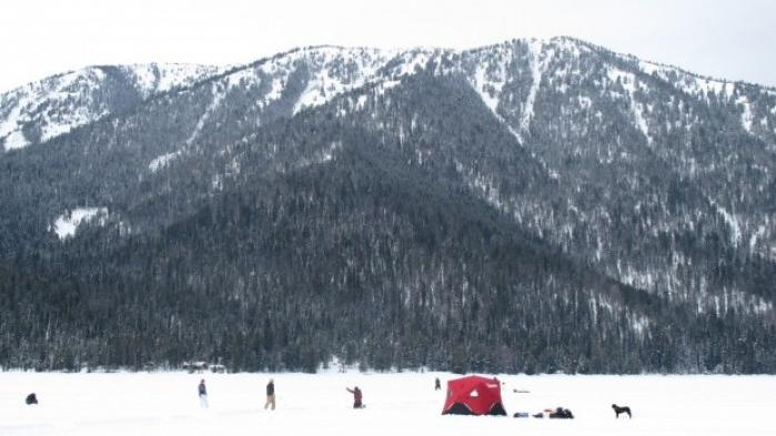 Ice fishing tournament returns to hebgen lake in february for Hebgen lake fishing report