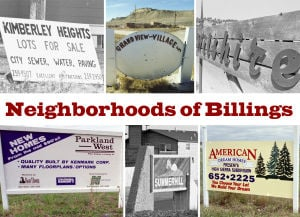 Retrospective: Neighborhoods of Billings