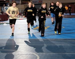 State wrestling tournament Thursday