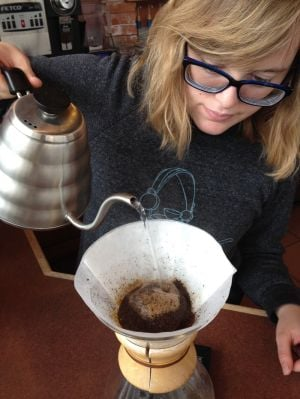 Good Eats: Ethiopian Harrar organic coffee at Rock Creek
