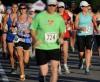 Runners take off in the half marathon