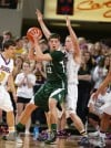 Daniel Meyer of Central takes the ball