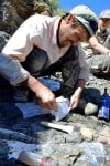 Family helps unearth marine fossil