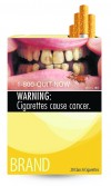 Cigarette packs will carry graphic images beginning in 2012 to reduce smoking deaths