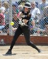 Makenzie Shellnutt at bat