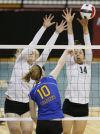 Rocky Mountain vs Briar Cliff 2014 NAIA Volleyball Championships