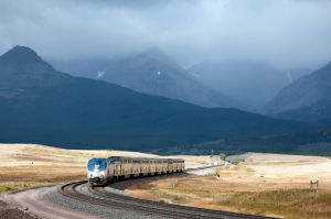 Amtrak's Empire Builder struggles in freight boom