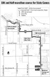 New route for Big Sky State Games 10K and half-marathon