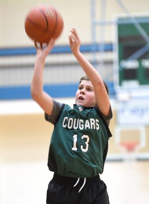 The Cougars' Caden Meier