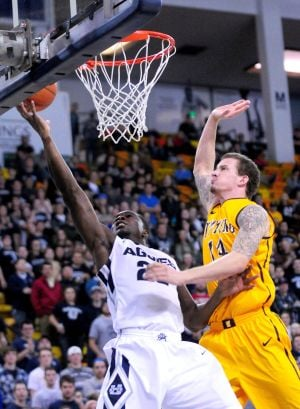 Wyoming struggles to find offense in loss to Utah State