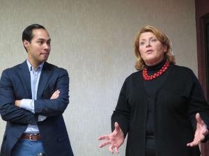 Housing secretary visits North Dakota oil patch