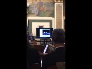 Clip from video shown at Kaarma trial