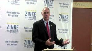 Ryan Zinke talks up energy plan in Billings