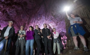 Candlelight tours offered of Lewis and Clark Caverns