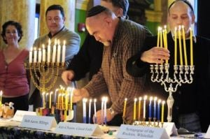 Hanukkah menorah lighting set for Thursday at state Capitol