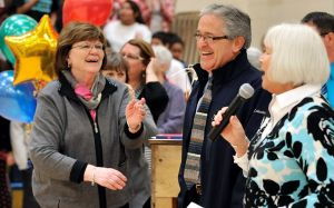 Educators surprised with Golden Apple, BEA awards