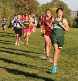 St. Francis Upper eighth-grade girls cross country