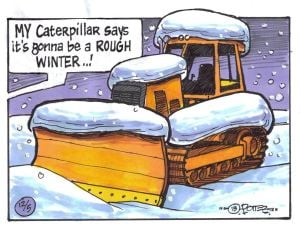 Outdoors just for kids: Using a caterpillar to forecast the winter