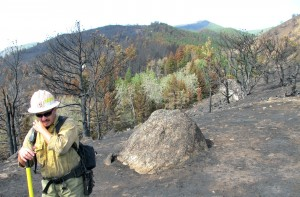 Rock Creek fire crews transitioning to rehab effort