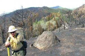 Rock Creek fire crews transitioning to rehab effort