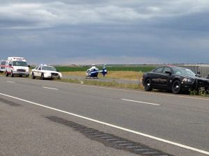 MHP responding to possible fatal rollover on I-90