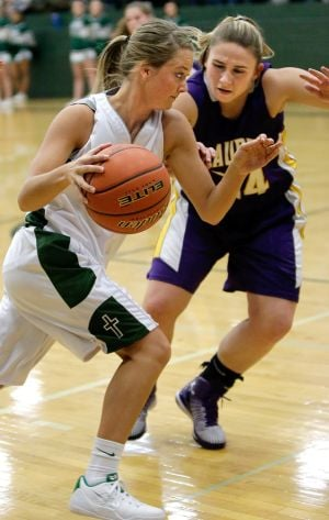 Laurel girls pull away from Rams