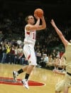Bozeman's Tanner Roderick scores during the second half