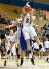Kelly Walsh's Olivia L'Ami grabs a rebound