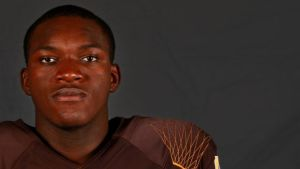 Football player from Congo finds peace in Wyoming