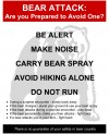 New bear warning signs to greet Yellowstone hikers