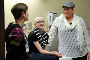 With cancer treatment in Billings, 12-year-old with lymphoma doesn't miss a beat