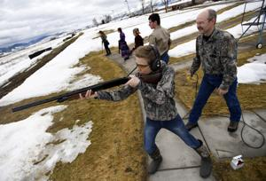 Young shooters learn the basics at Missoula Trap and Skeet Club