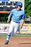 Royals's Matt Dillon sprints to third