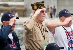 WWII veterans recall adventures, ordeals during D.C. tour