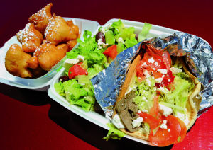 Jimmy's Greece Pit: Making people happy with food