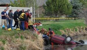 Coroner names women who drowned in car found in irrigation ditch