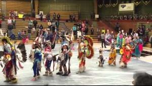 Pow wow honors young people