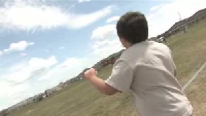 Local kids learn the art of kites at Amend Park