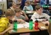 Highland Elementary School fifth-graders