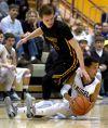 Laurel's Marcus Gunn steals the ball