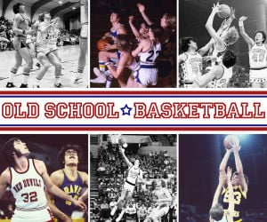 Old school: Boys basketball